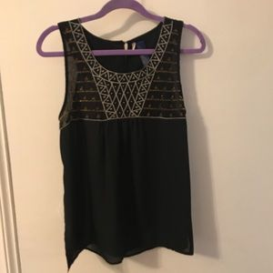 Francesca's Beaded Tank Top